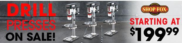 Drill Press On Sale