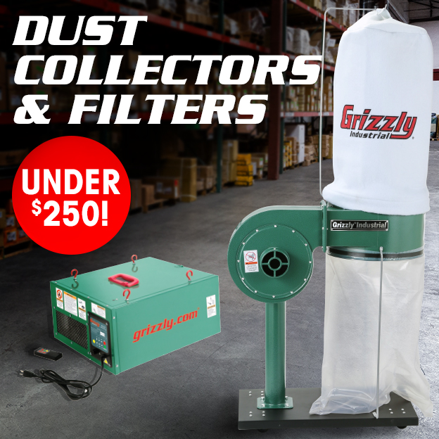 Dust Collectors and Filters Under $250