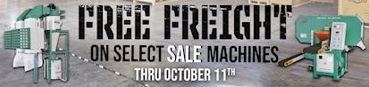 Free Freight Promo